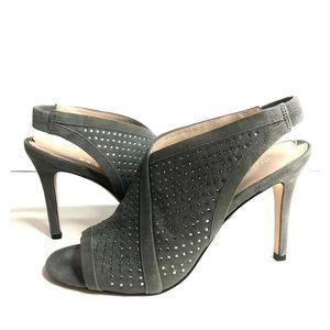 👠Via Spiga  open toe sling back pump.
